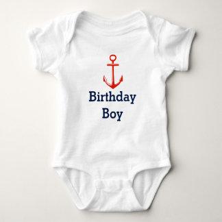 Anchor -Birthday boy shirt - Customize