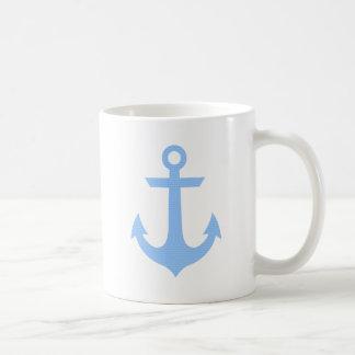 Anchor Blue Rain Coffee Mug
