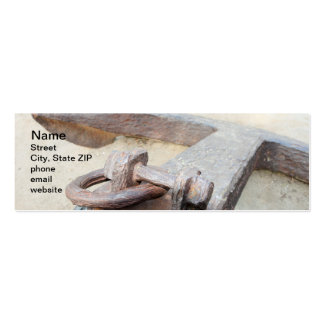 Anchor Pack Of Skinny Business Cards