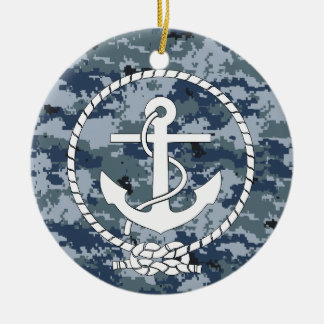 Anchor Ceramic Ornament