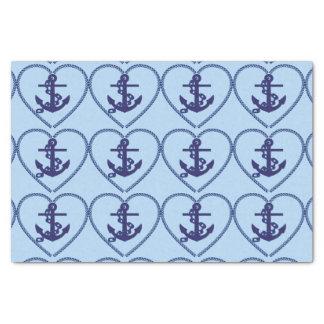 anchor chain hart tissue paper