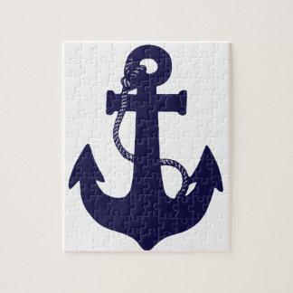 Anchor design jigsaw puzzle