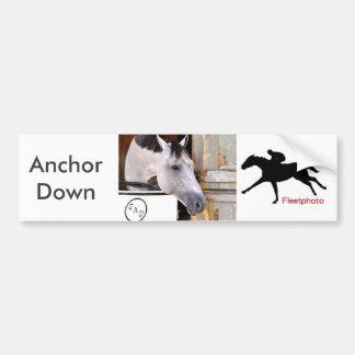 Anchor Down Bumper Sticker