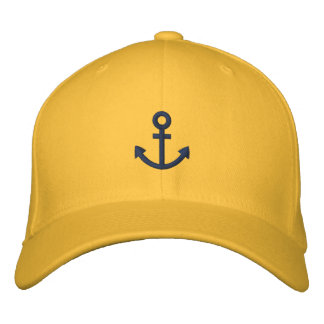 Anchor Embroidered Hat