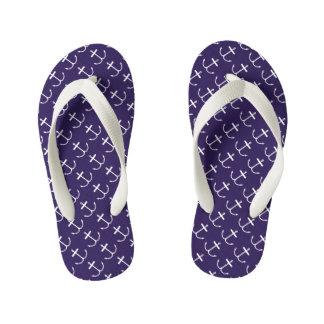 Anchor Flip Flops (Light Print) Thongs