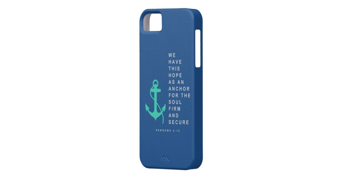 Anchor for the Soul (Hebrews 6:19) Case For The iPhone 5 ...