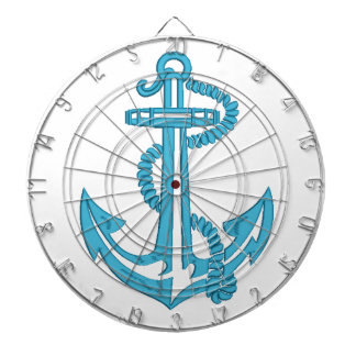 anchor - imitation of embroidery dartboard