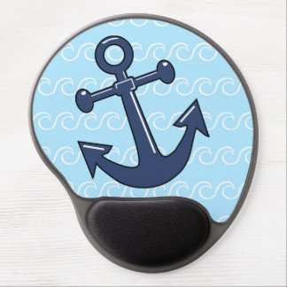 Anchor in the Waves Gel Mouse Pad