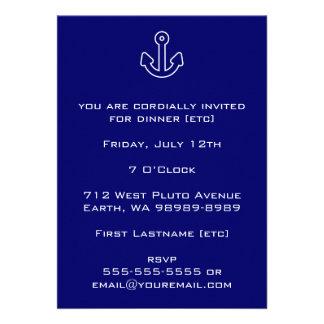 Anchor Custom Invitation
