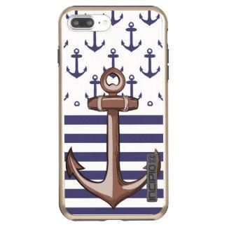 Anchor iPhone 7 Plus DualPro Shine, Gold Incipio DualPro Shine iPhone 8 Plus/7 Plus Case