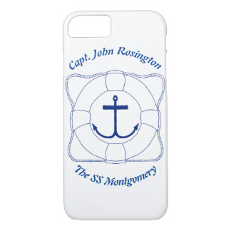 Anchor & Life Saver Cell Phone Case (Dark Print)