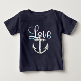 Anchor Love cute nautical  beach cottage shirt
