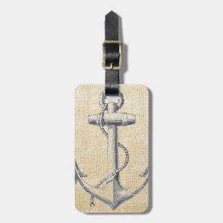 Anchor Luggage Tag