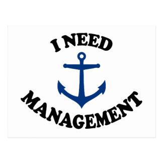 Anchor Management Postcard