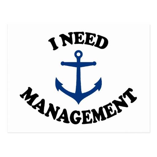 Anchor Management Postcards