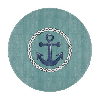 Anchor Nautical Cutting Boards