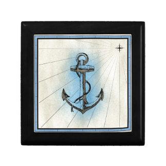 Anchor Nautical Sea Gift Box