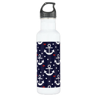 Anchor Nautical Themed BPA Free 710 Ml Water Bottle