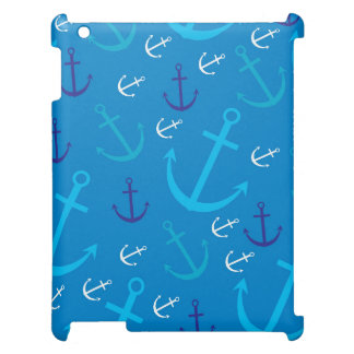 Anchor pattern iPad covers