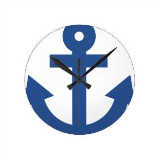 Anchor Round Clock