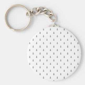 Anchor seamless texture key ring