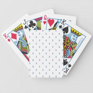 Anchor seamless texture poker deck