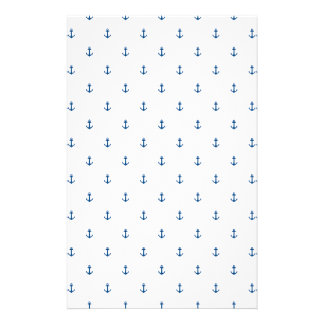 Anchor seamless texture stationery