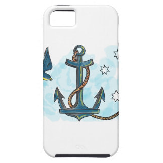 Anchor Swallow Southern Star Tattoo Tough iPhone 5 Case