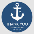 Anchor Thank You Labels