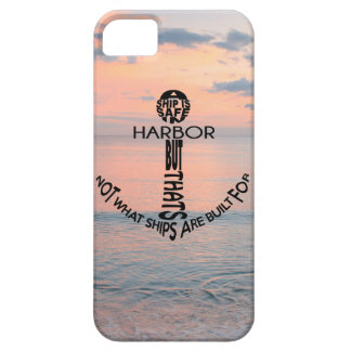 Anchor Typography iPhone 5 Covers