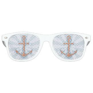 Anchor with Chain Retro Sunglasses