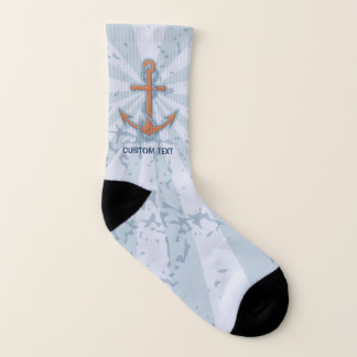 Anchor with Chain Socks