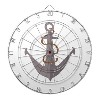 Anchor with Rope Dart Board