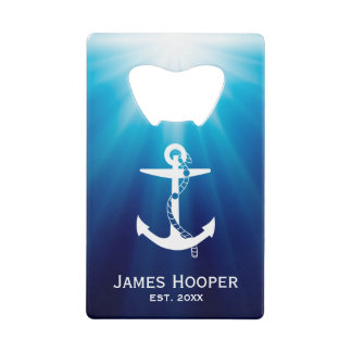 Anchor with Rope | Personalizable Nautical Gifts