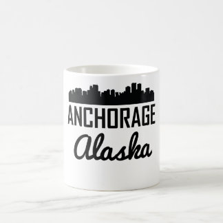 Anchorage Alaska Skyline Coffee Mug