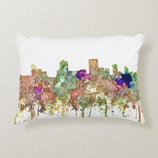 Anchorage Alaska Skyline SG-Faded Glory Decorative Cushion