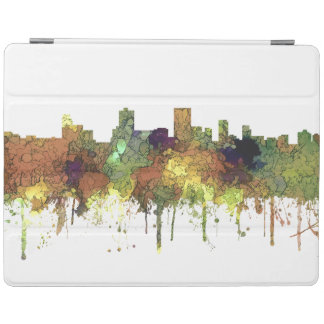 Anchorage Alaska Skyline SG-Safari Buff iPad Cover