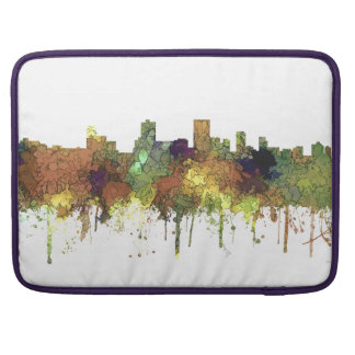 Anchorage Alaska Skyline SG-Safari Buff Sleeve For MacBooks