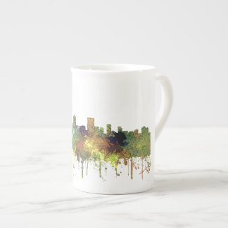 Anchorage Alaska Skyline SG-Safari Buff Tea Cup