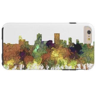 Anchorage, Alaska Skyline - SG Safari Buff Tough iPhone 6 Plus Case