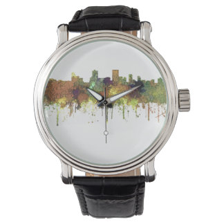 Anchorage Alaska Skyline SG-Safari Buff Watches