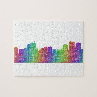 Anchorage skyline jigsaw puzzle