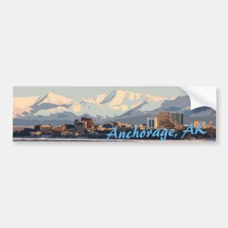 Anchorage sticker bumper sticker