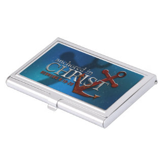Anchored in Christ Business Card Holders