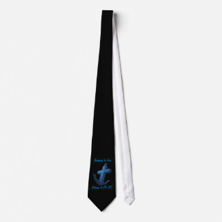 Anchored In Him Scripture Tie