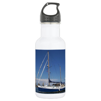 Anchored In Southern Italy 532 Ml Water Bottle