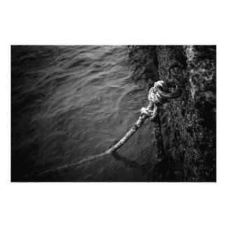 Anchored Photo Print