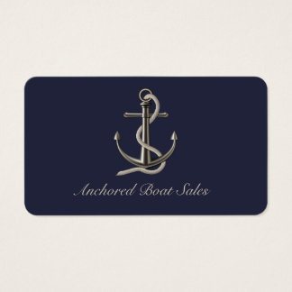 Anchored Rope Business Card
