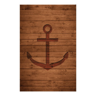 Anchored Rustic Stationery