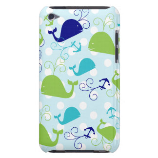 Anchors-a-Whale Barely There iPod Cases